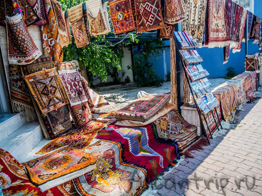 ковры в Памуккале