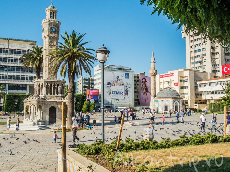 главная площадь Измира