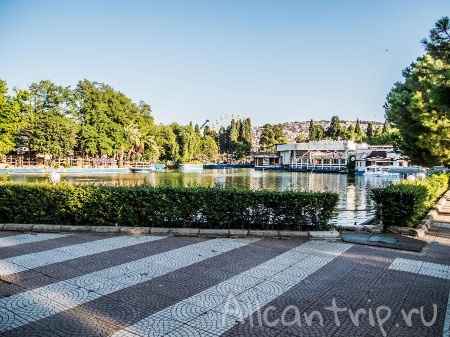 озеро в парке Измира