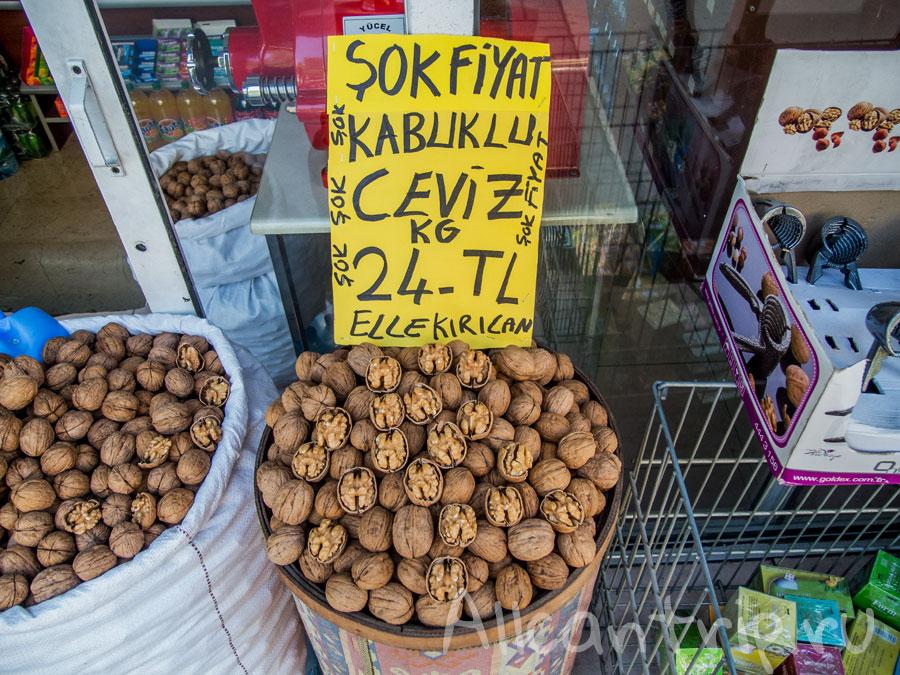 грецкие орехи в Турции