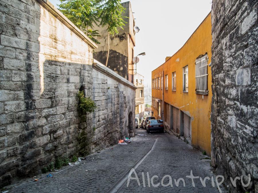 дорога до отеля Сулеймание в Стамбуле