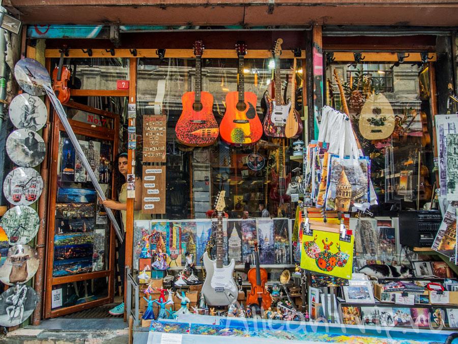необычный магазин в стамбуле