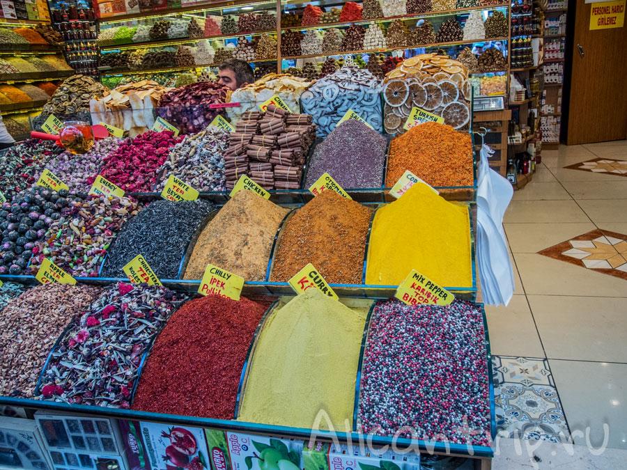 большой базар в стамбуле специи