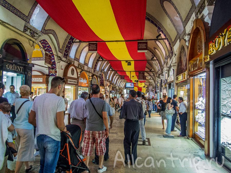 большой базар в стамбуле фото