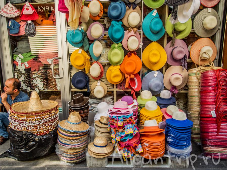 гранд базар в стамбуле шляпы