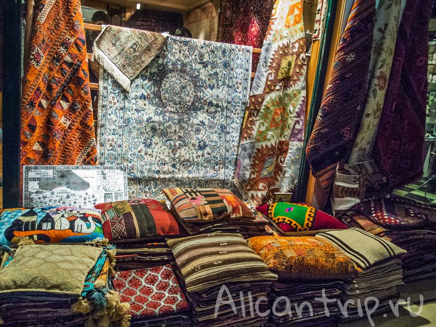 гранд базар в стамбуле подушки
