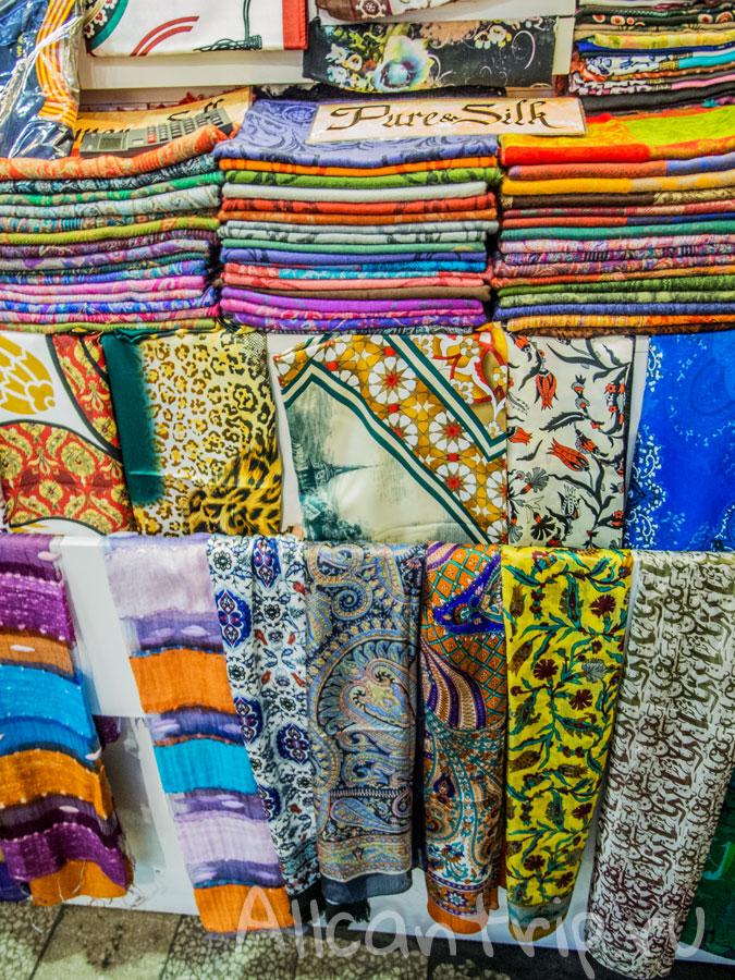 гранд базар в стамбуле ткани