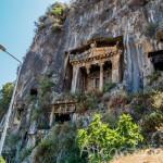 Ликийские гробницы в Фетхие – как туда попасть и что спрятано внутри гробницы