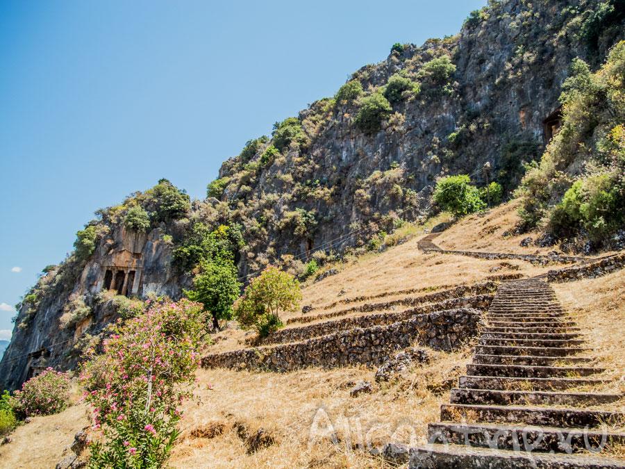 лестница на ликийские гробницы