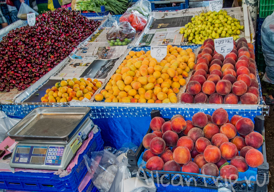 рынок в Бодруме фото
