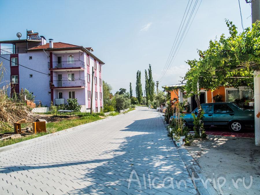деревня Памуккале фото