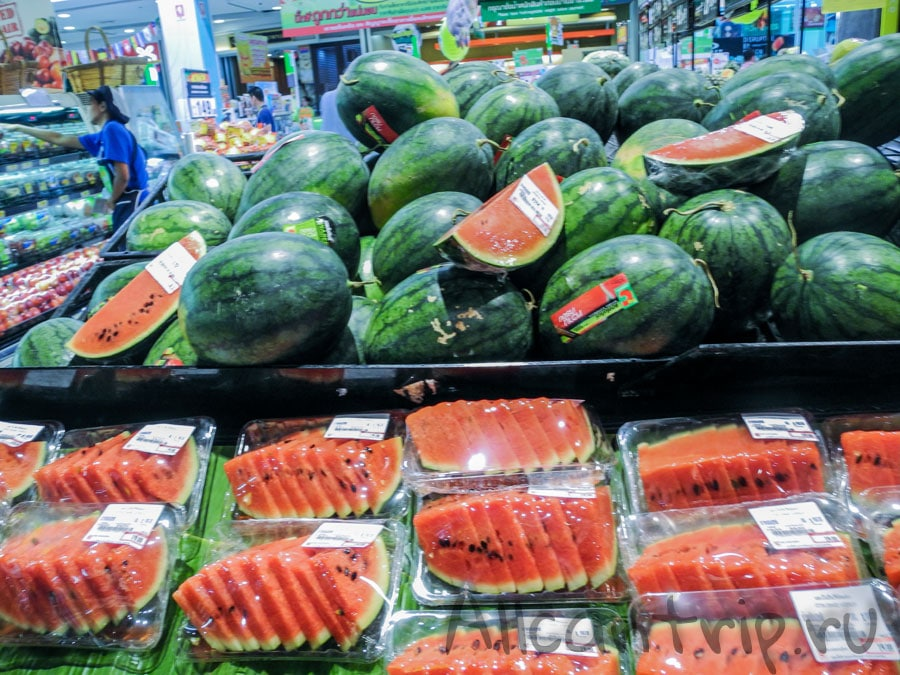 тайский красный арбуз
