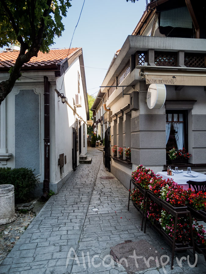 улица Скадарлия фото