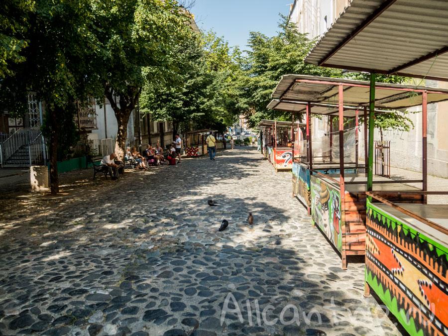 улица Скадарлия фото Белград