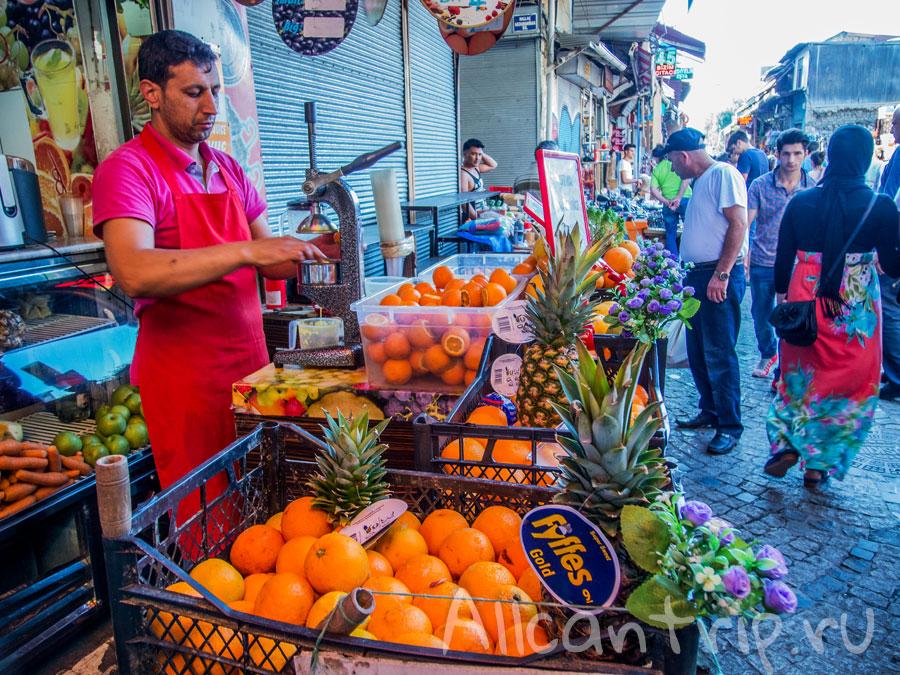 египетский рынок в стамбуле фото