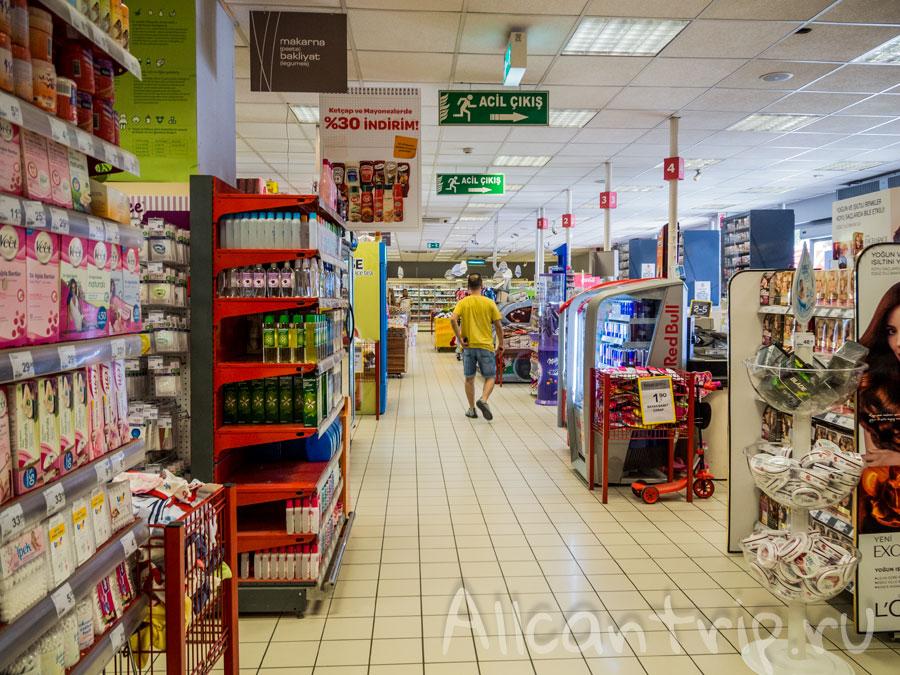 супермаркет в фетхие