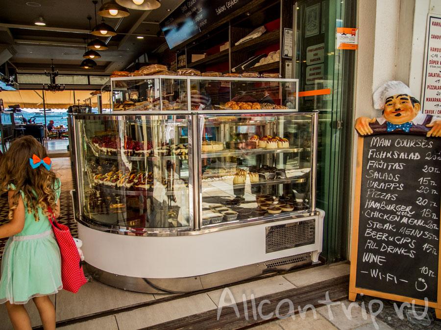 цены на еду в Бодруме