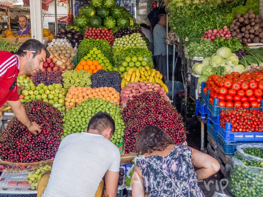 фрукты в бодруме