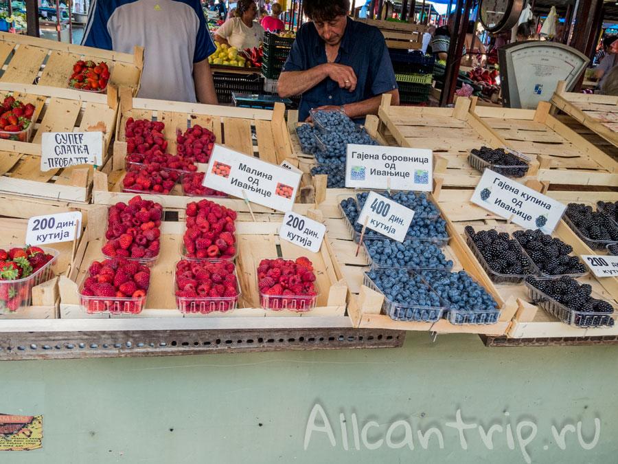 ягоды в Сербии