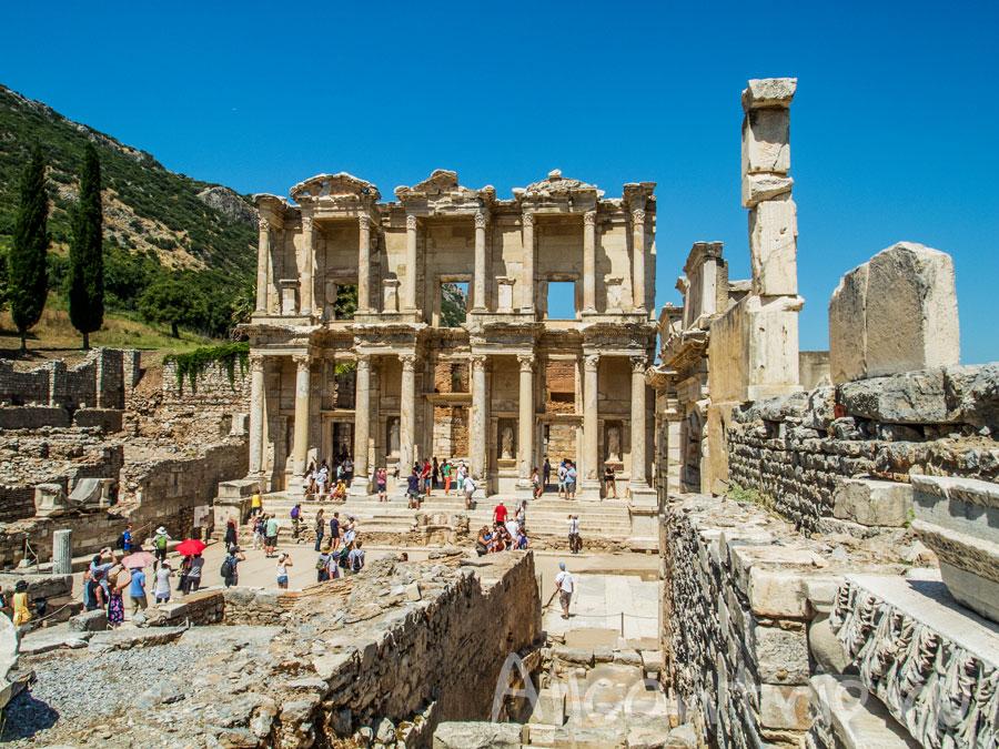 библиотека цельса в Эфеса