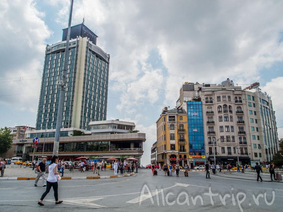 Площадь Таксим Бейоглу