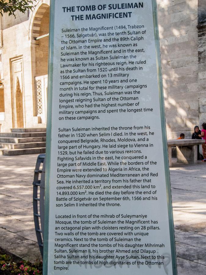 история мечети сулеймание