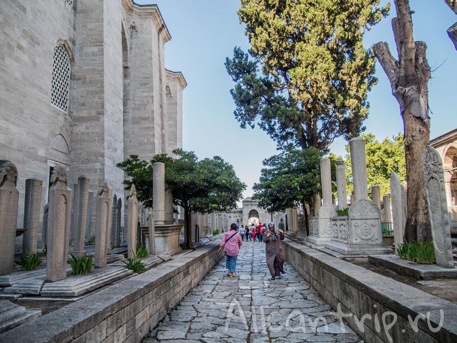 мечеть сулеймание гробница роксоланы