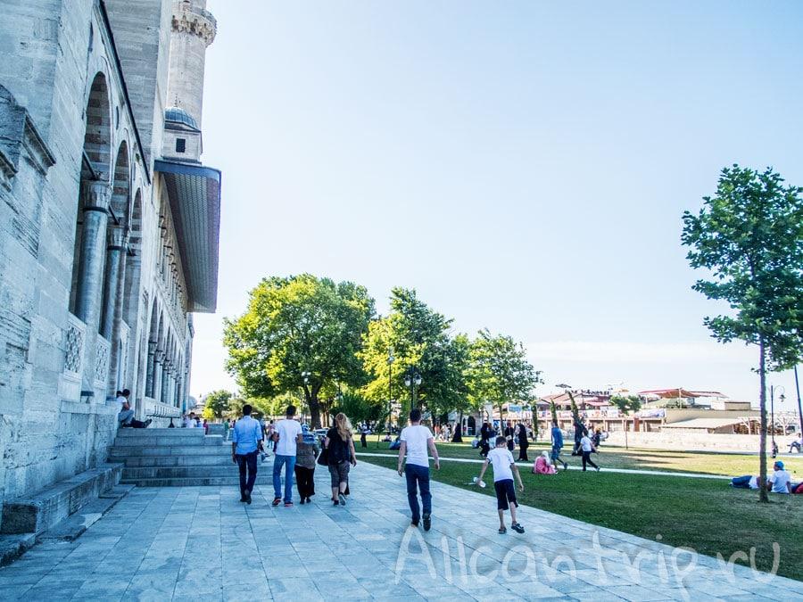 мечеть сулеймание посещение