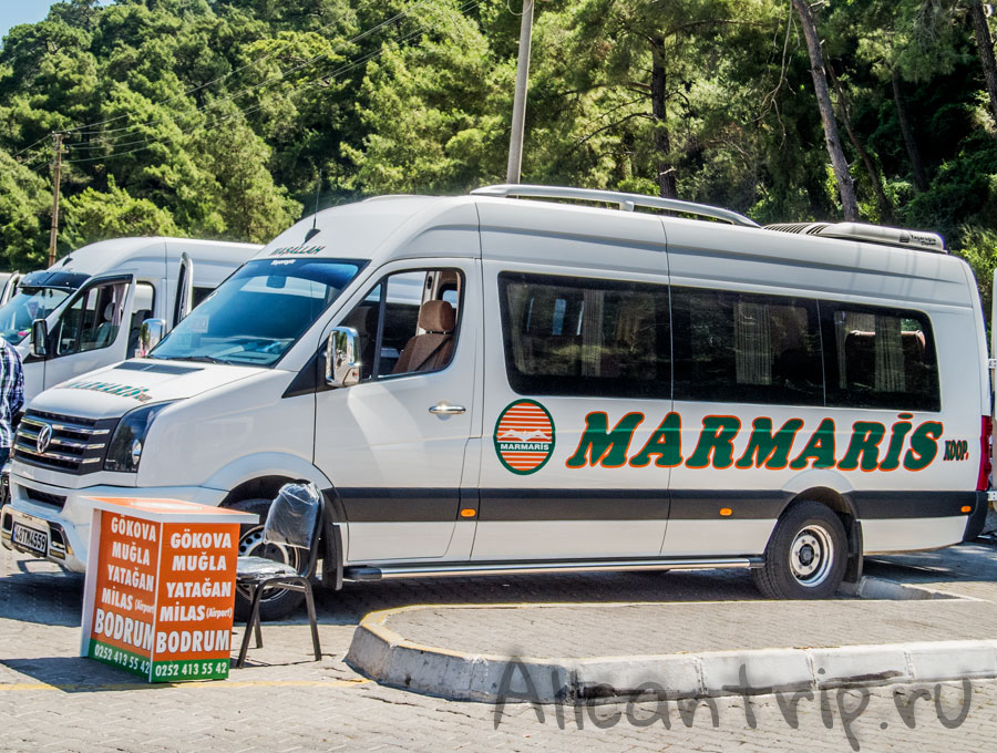автовокзал Мармарис