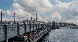 галатский мост пешком