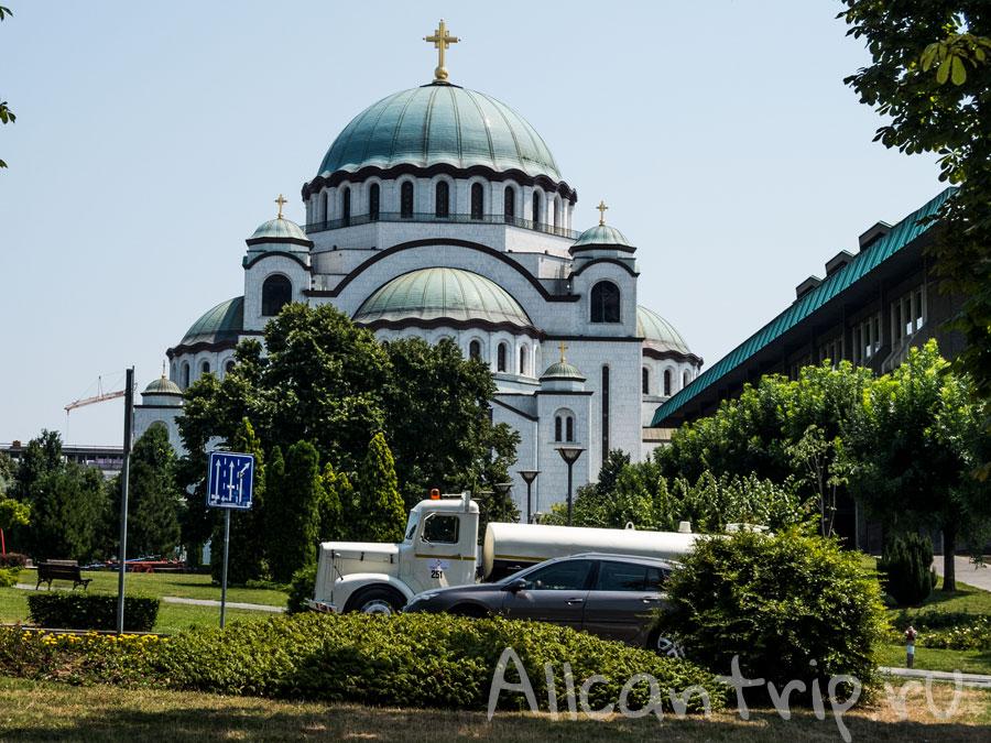 храм Святого Саввы фото