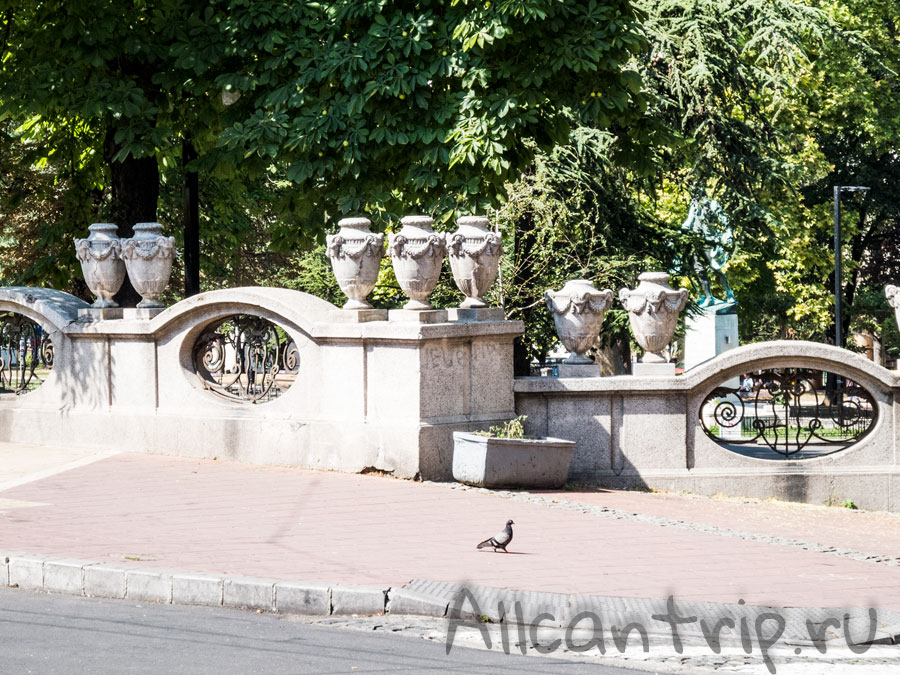 парк в Белграде