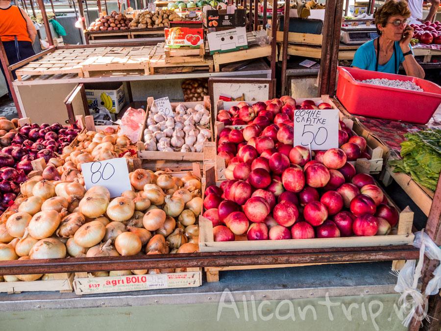 продуктовый рынок в белграде