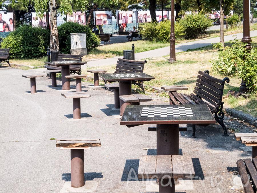 парк в Белграде фото