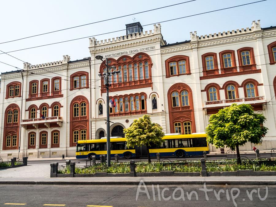 маршруты транспорта в белграде