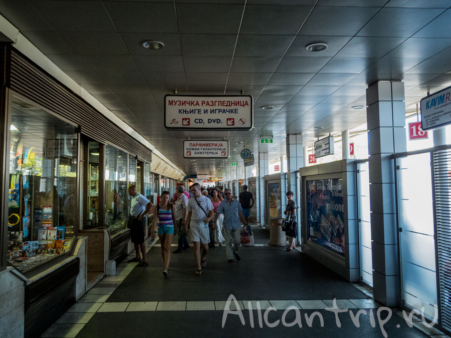 автовокзал белград