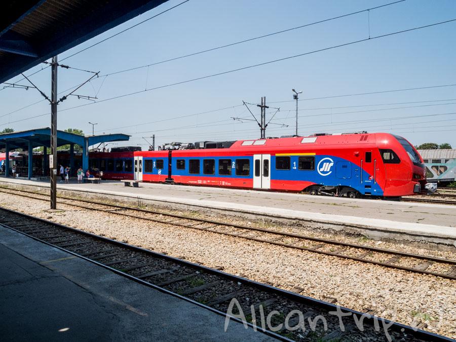 жд вокзал нови сад платформа