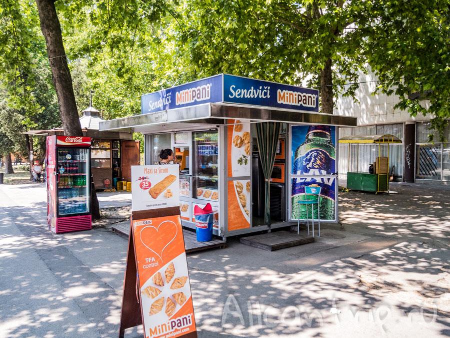 автовокзал Нови Сад