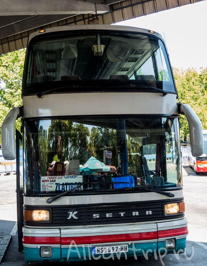 автобус нови сад