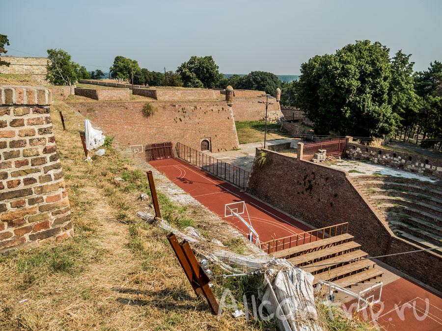 крепость калемегдан сербия