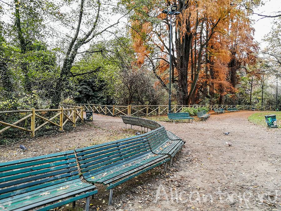 Indro Montanelli Park в милане