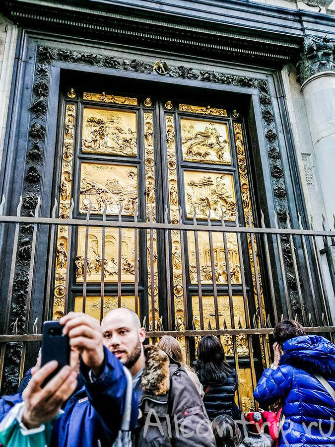 баптистерий ворота во флоренции