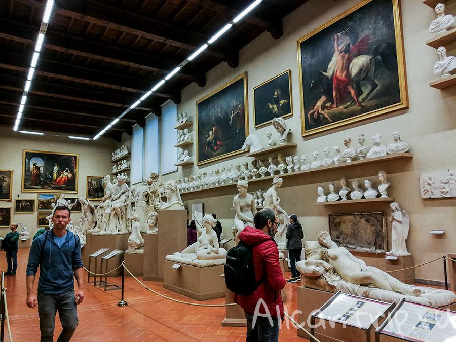 галерея академии флоренция фото