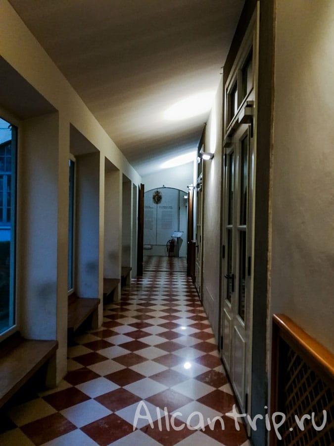 галерея академии флоренция внутри
