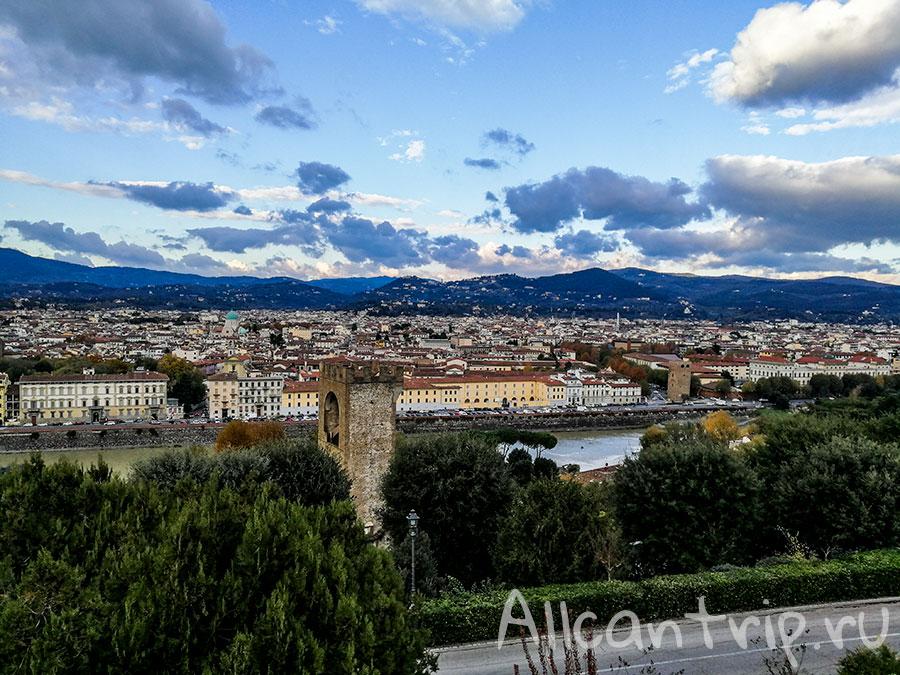 площадь микеланджело флоренция фото
