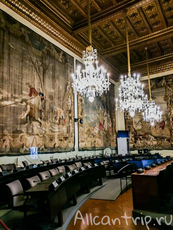 дворец палаццо медичи