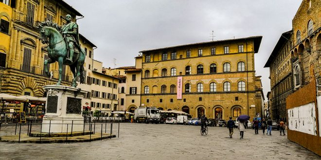 Главная площадь флоренции