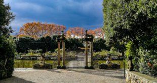 сады боболи во флоренции озеро