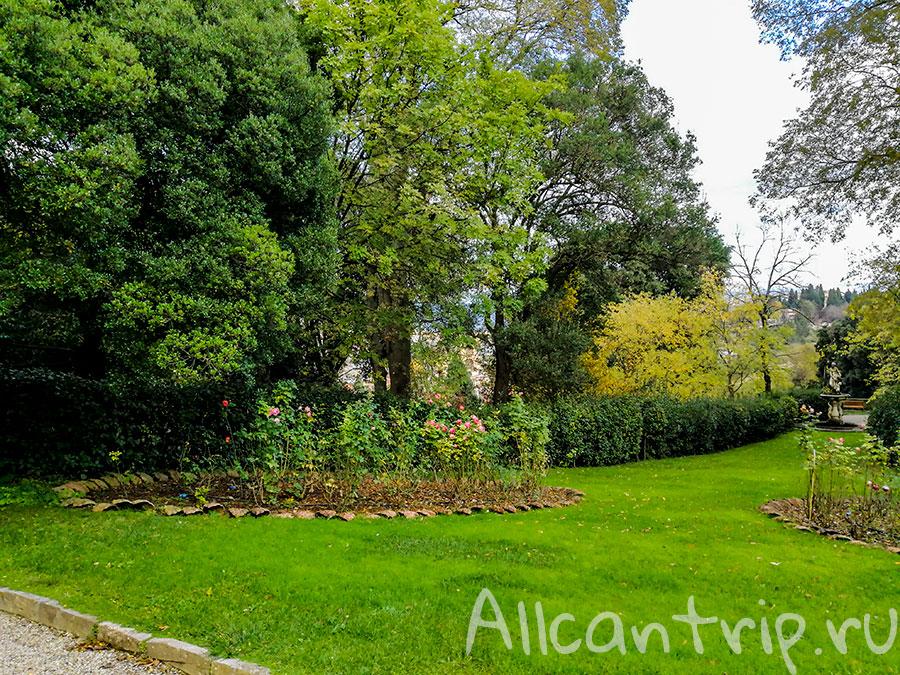 сады Бардини флоренция