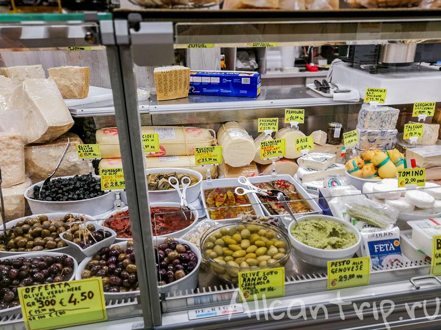 продуктовый рынок флоренции